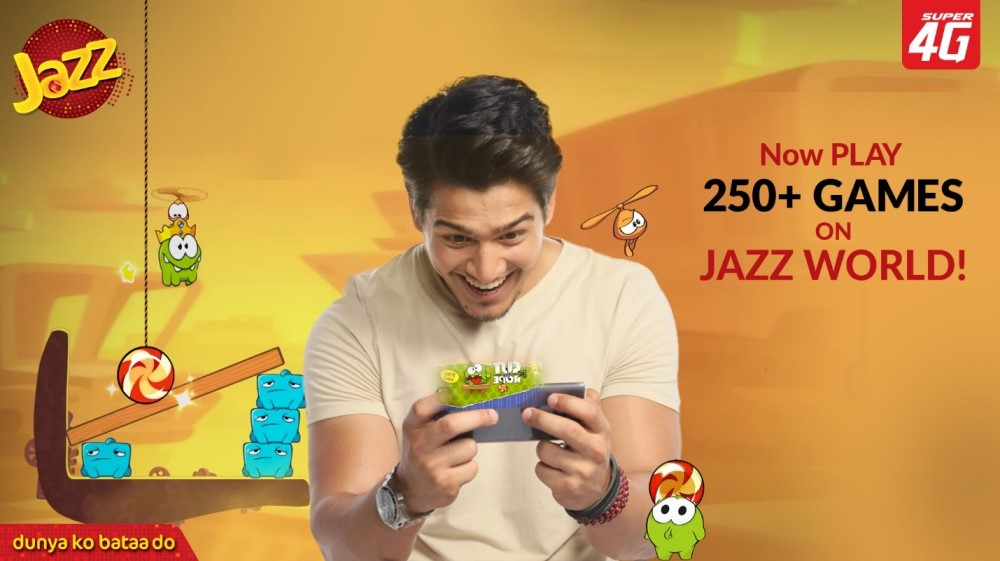 Over 250 games now available on Jazz World