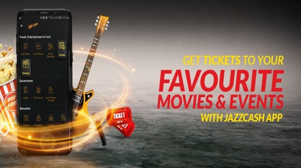 JazzCash Launches Movie & Event Tickets