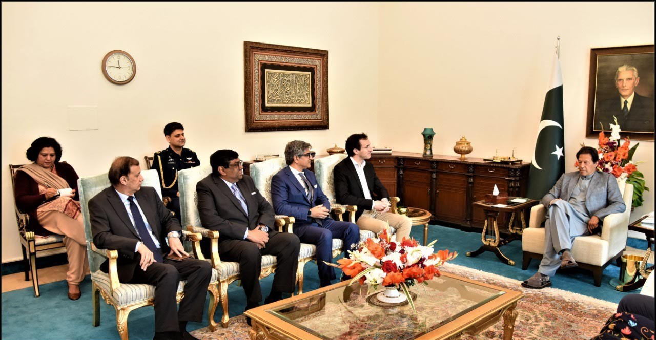 VEON's designate Co-CEO Sergi Herrero Visits Pakistan, Meets with PM Imran Khan