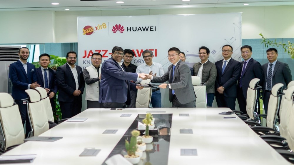 Huawei partners with Jazz to train individuals on digital technology