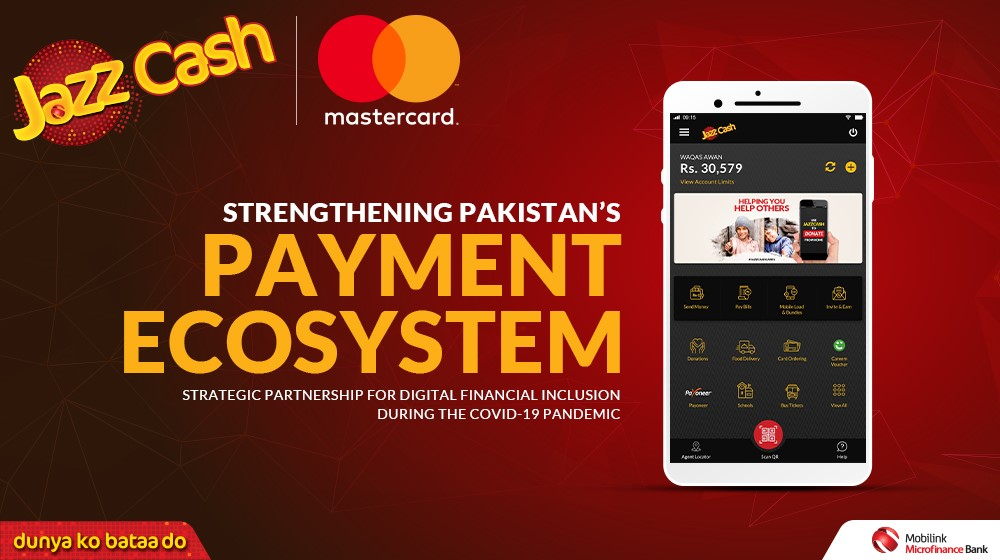 JazzCash strengthens Pakistan's payments ecosystem with Mastercard partnership