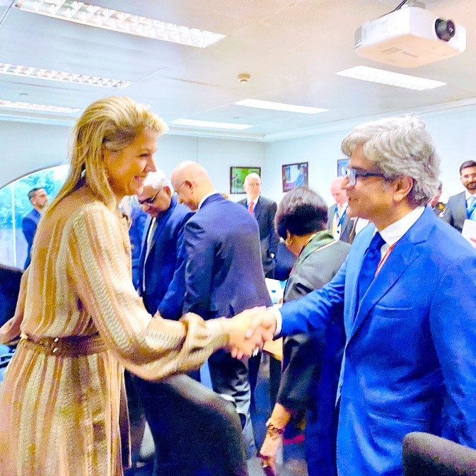Jazz CEO Discusses Financial Inclusion with UNSGSA, HM Queen Maxima of the Netherlands