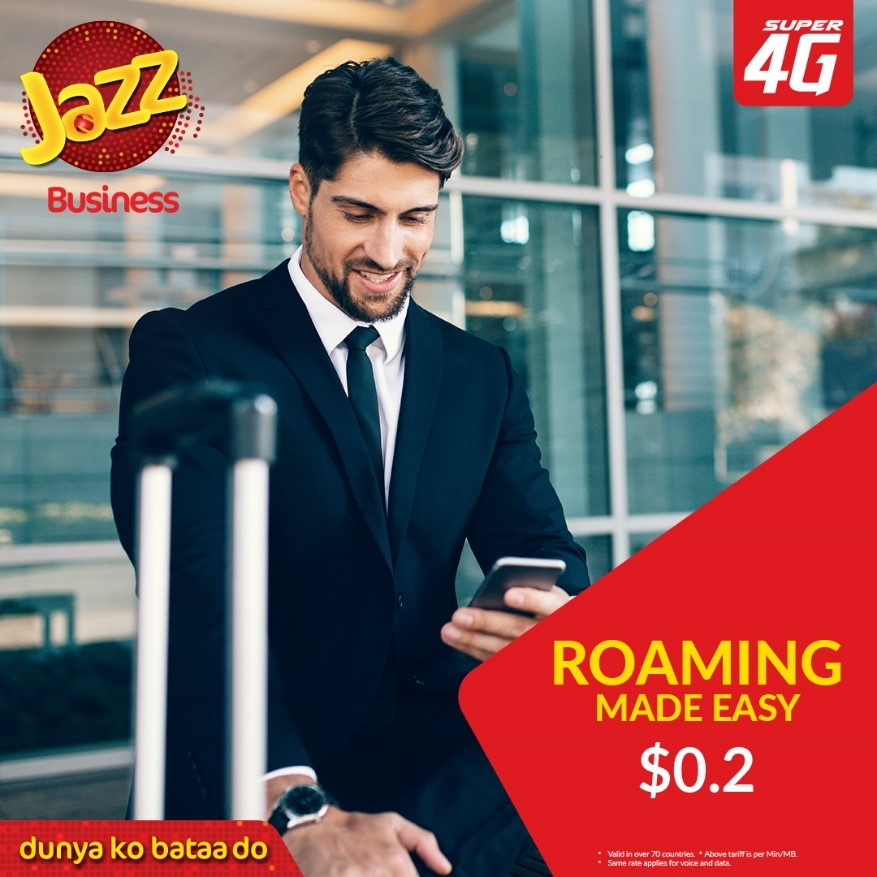 Jazz Makes Travel Easier With Affordable Roaming Charges