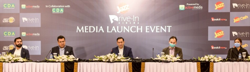 Jazz collaborates with CDA and Activemedia to bring the drive-in cinema experience to Pakistan