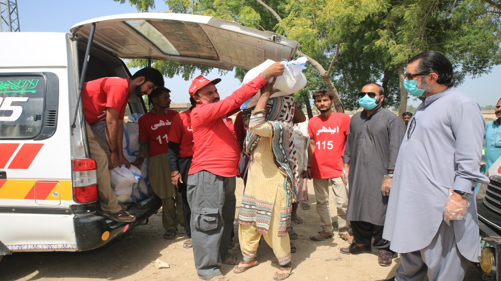 Jazz reaches Quetta with food rations