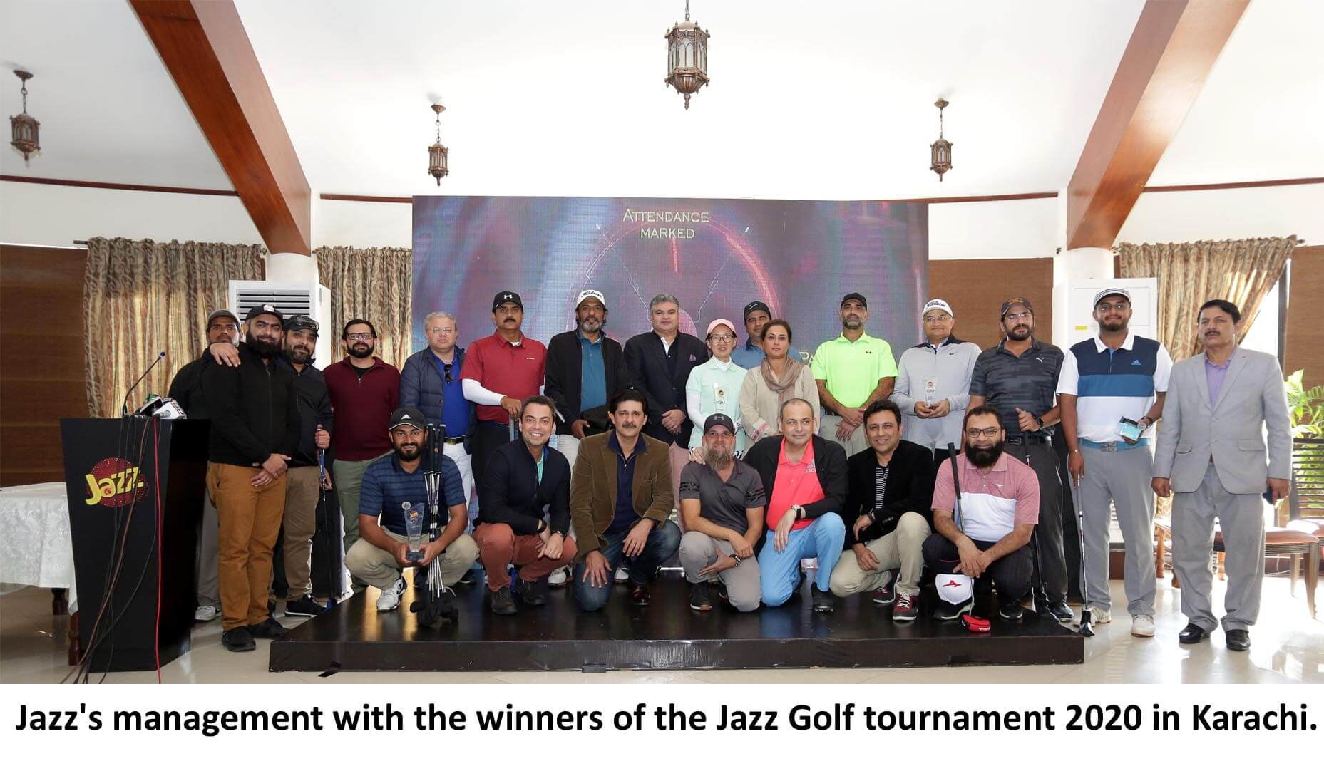 Jazz Golf Tournament 2020 Tees Off In Karachi