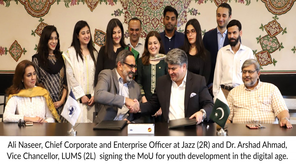 Jazz and LUMS come together for Digital Excellence