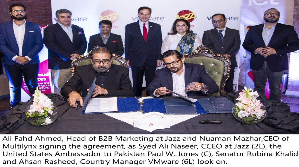 Jazz Business partners with VMware to provide best-in-class cloud services