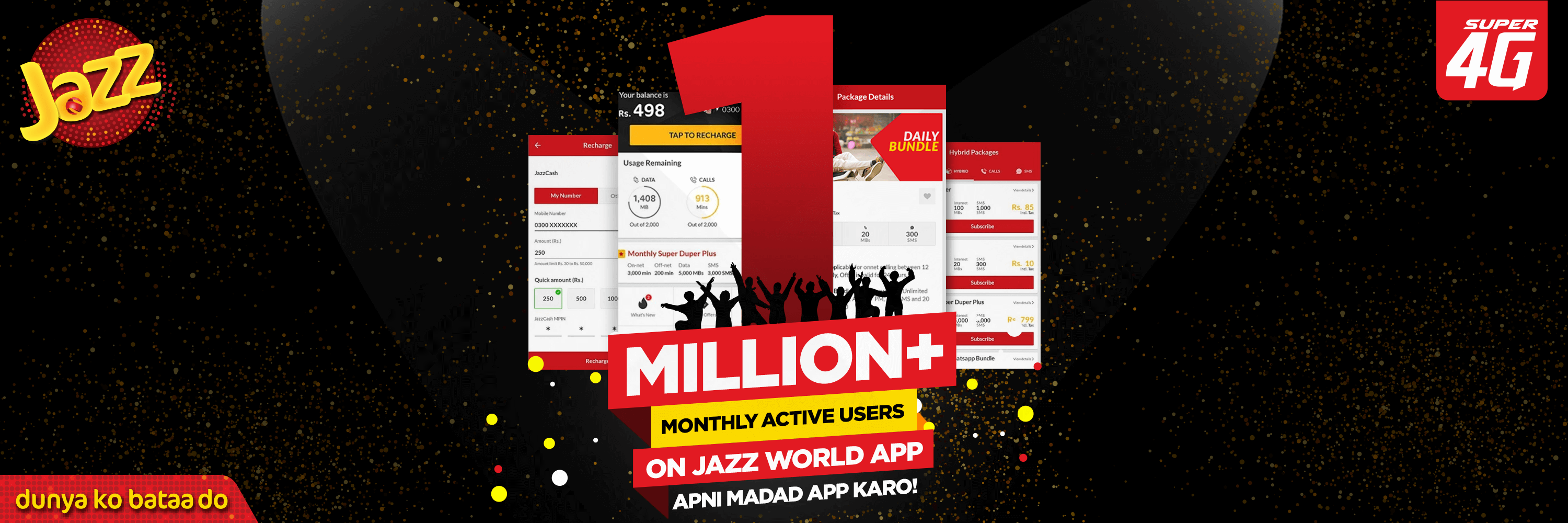 Jazz World Celebrates One Million Active Users