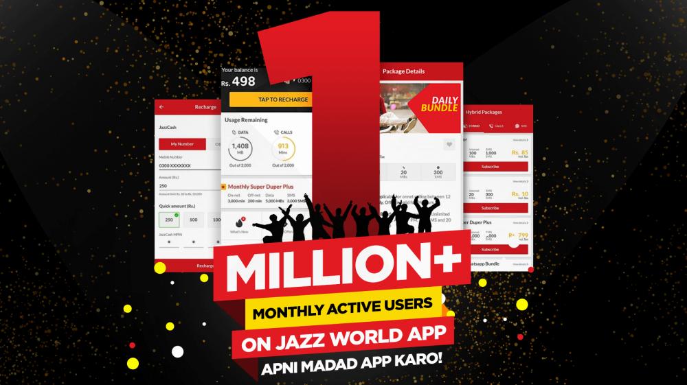Jazz World Celebrates One Million Active Users