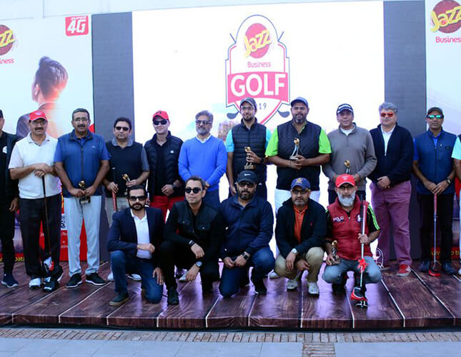 Jazz Thrills Golfers with Business Golf Tournament 2019