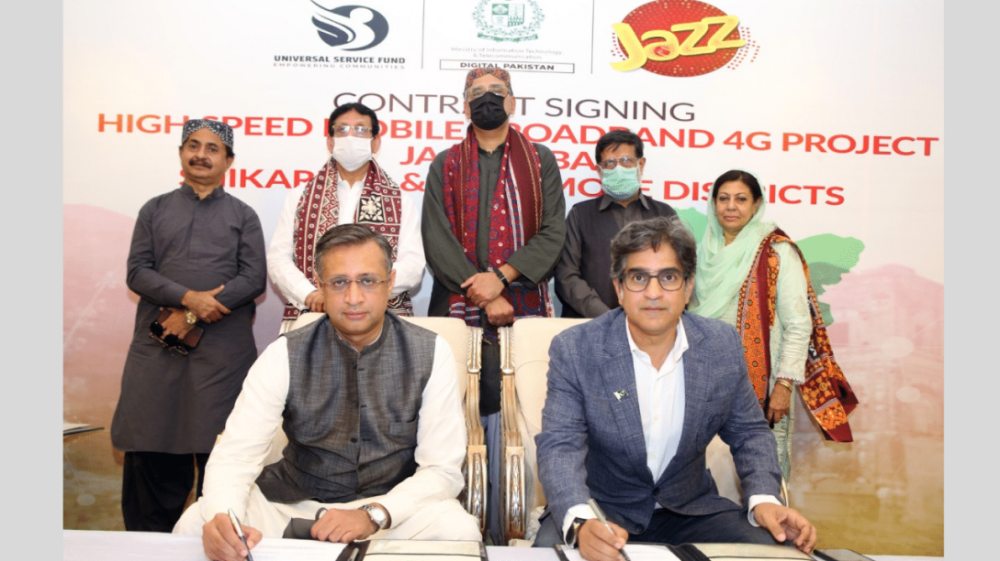 Jazz collaborates with USF to provide 4G services in Jacobabad, Shikarpur & Kashmore