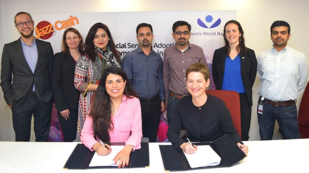 JazzCash and Women's World Banking announce partnership to serve low-income women in Pakistan