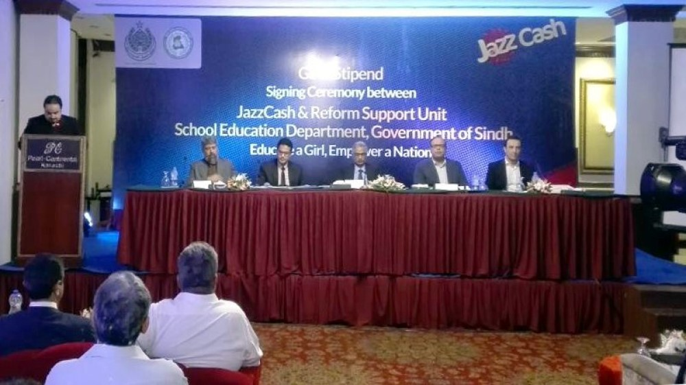 JazzCash to Disburse Stipends to Female Students of government schools across Sindh