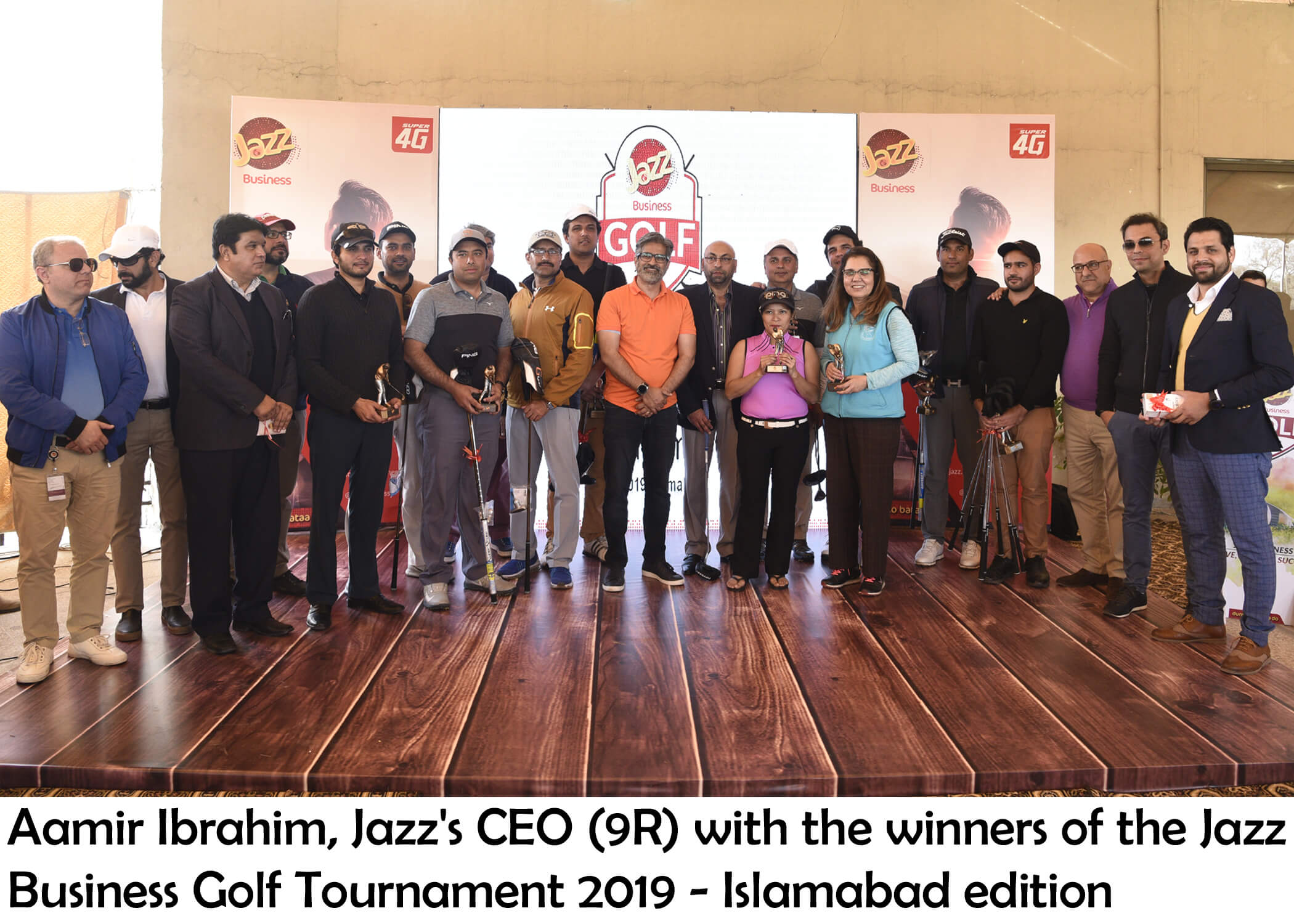 Jazz Business Golf Tournament 2019 Concludes in Islamabad