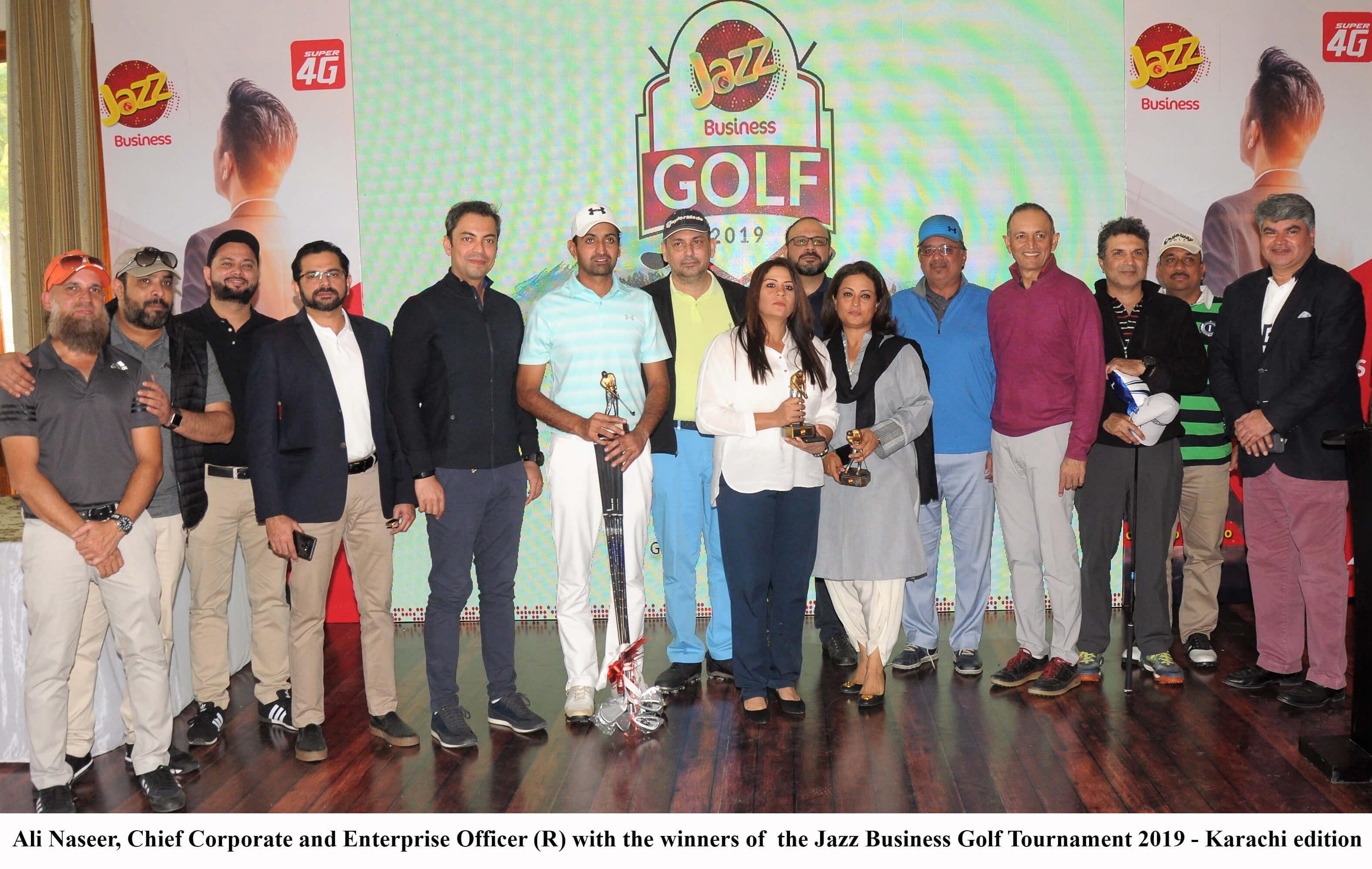 Jazz Business Golf Tournament 2019 Kicks Off in Karachi
