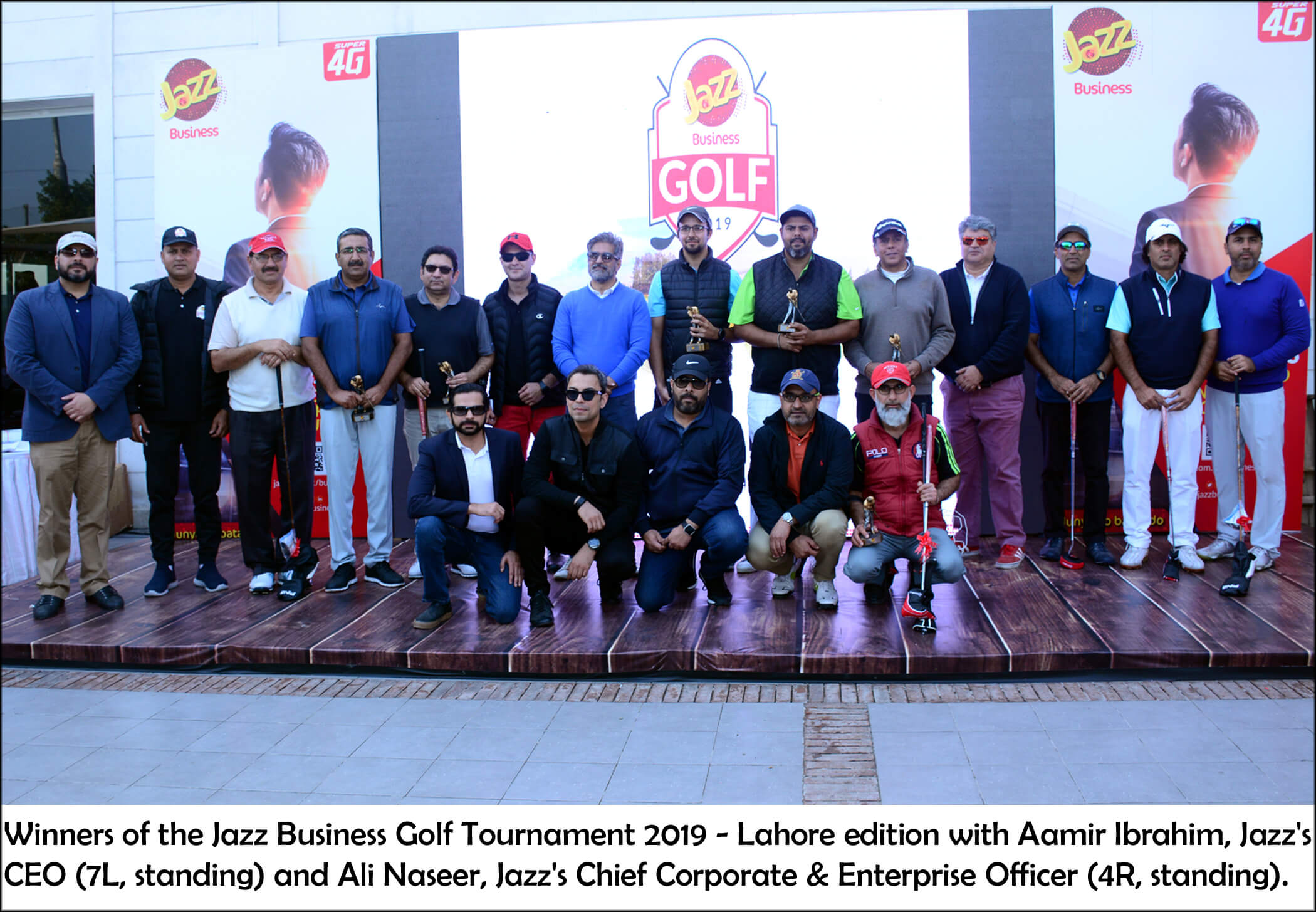 Jazz Business Golf Tournament 2019 Takes Place in Lahore