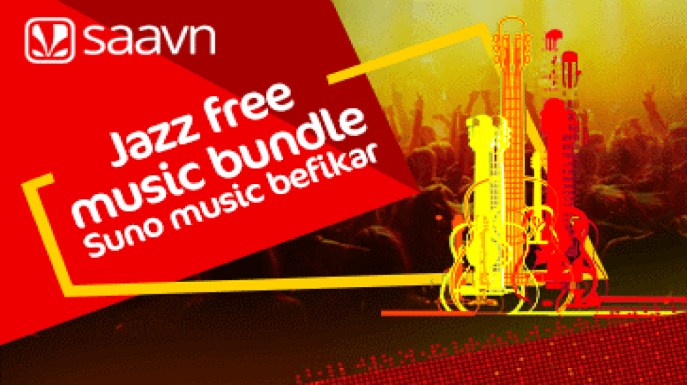 Jazz Partners with Saavn to Enable Free Music Streaming to Users