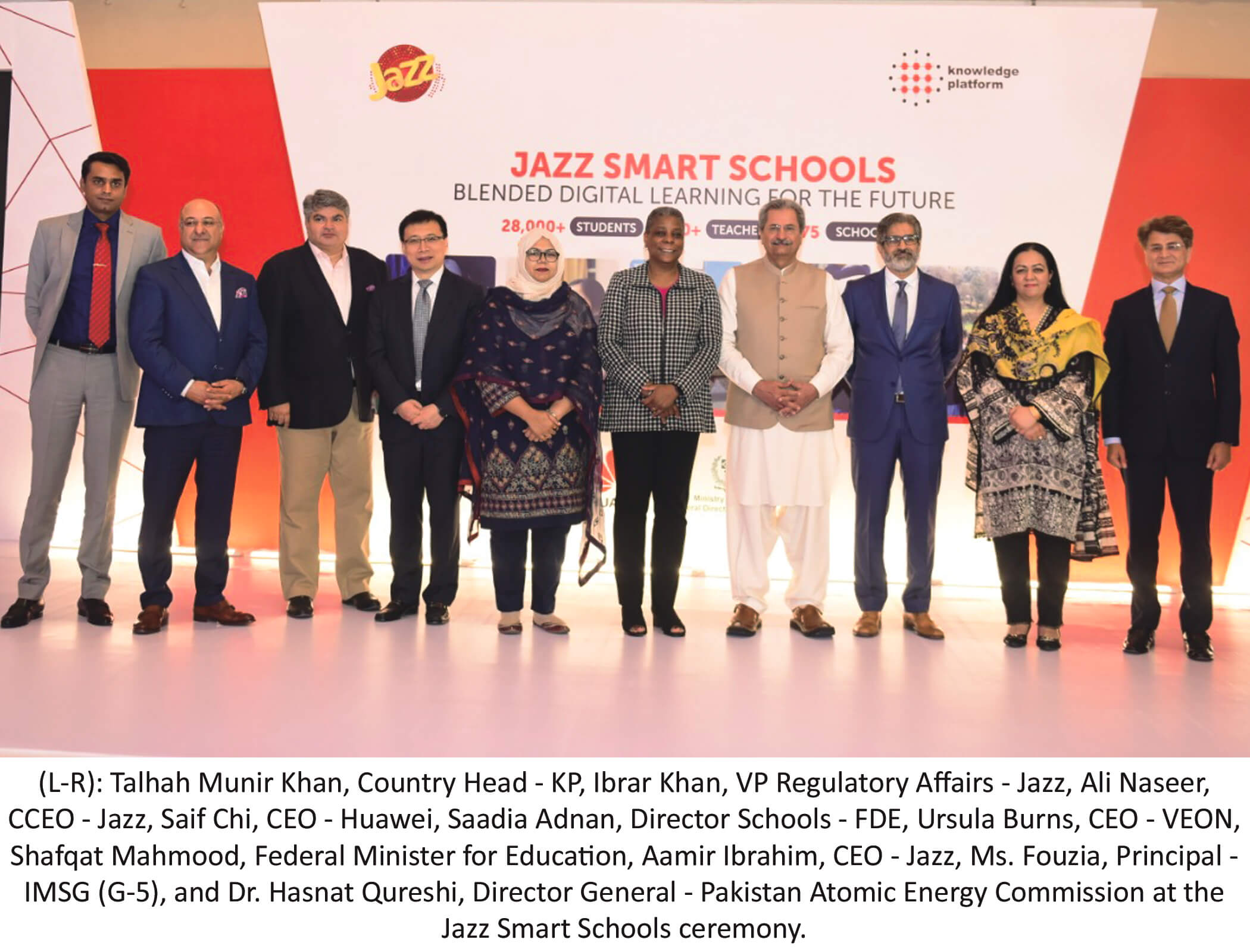 Jazz Celebrates the Success of its Smart Schools Programme