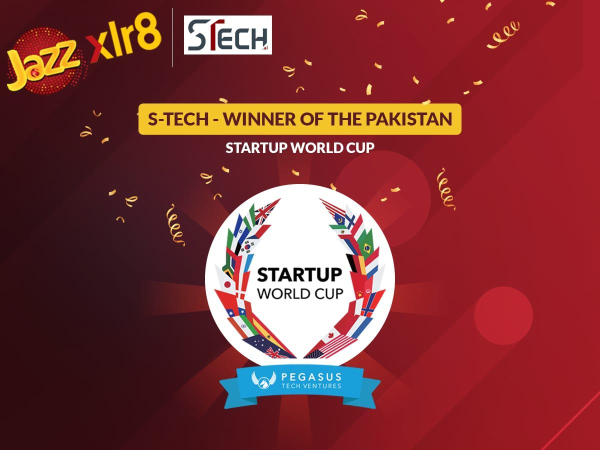 Jazz xlr8's startup S-Tech wins Startup World Cup Pakistan