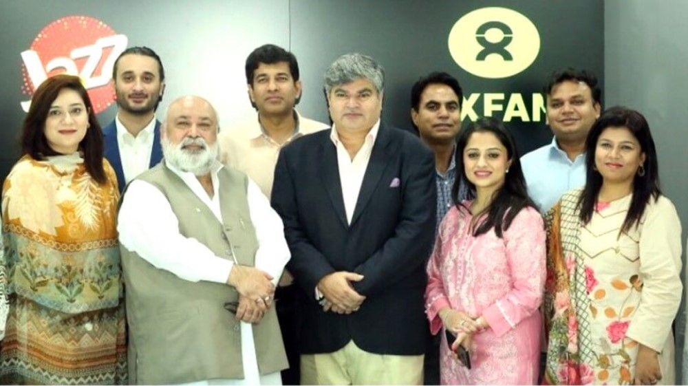 Jazz Partners with Oxfam in Pakistan to digitally empower young women