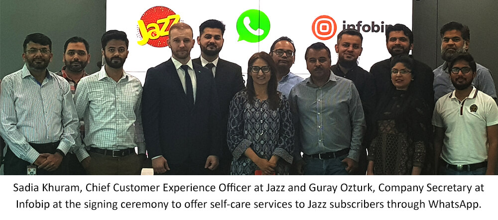 Jazz Becomes First Telecom Operator In Pakistan To Provide Automated Self-Care Services via WhatsApp