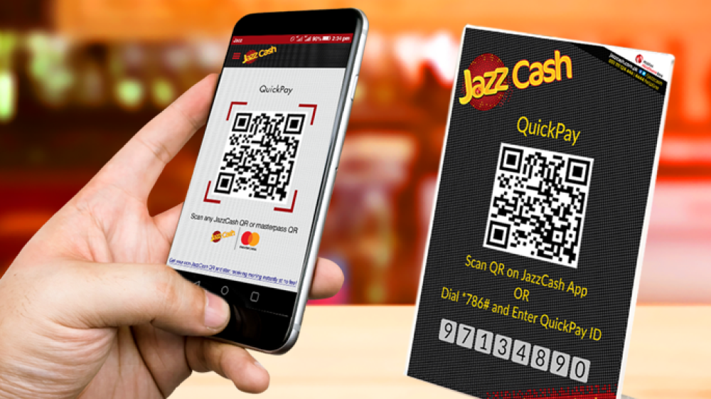 JazzCash Introduces QuickPay QR Solution for Mobile Account Customers!