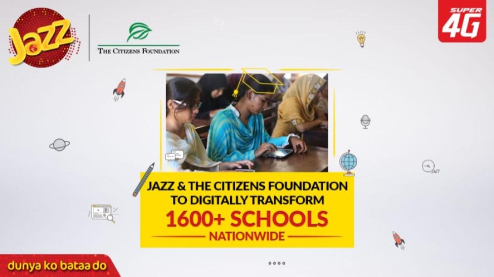 Jazz to digitally transform over 1600+ TCF schools nationwide