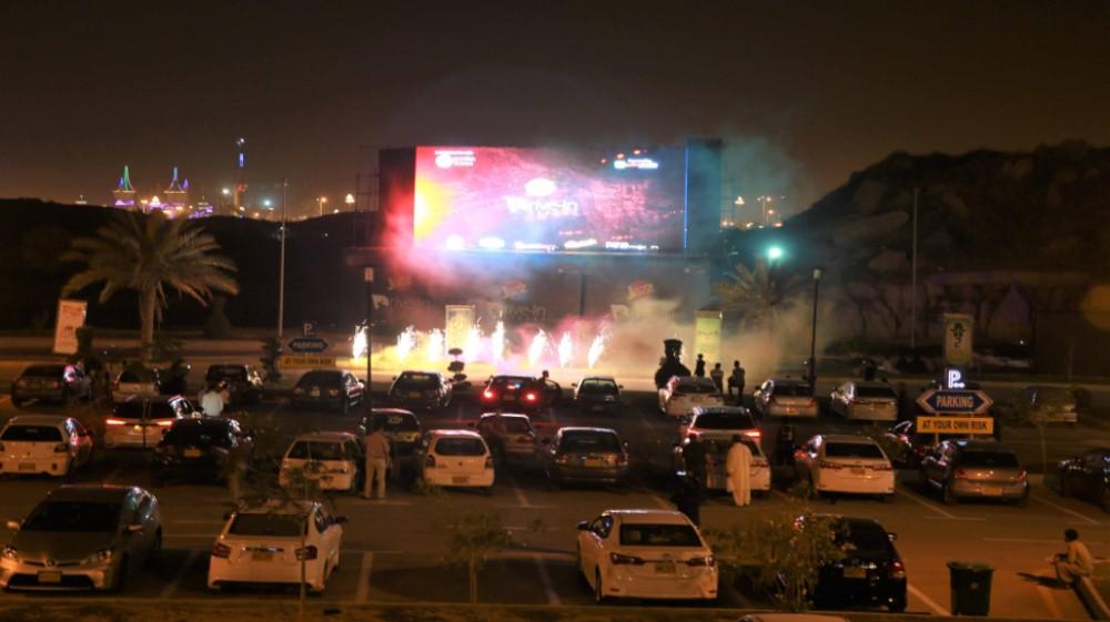 Jazz Drive-In Cinema starts screening in Karachi