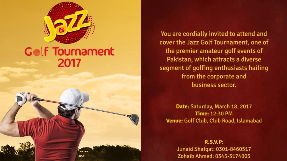 The Annual Jazz Golf Tournament 2017 Concludes In Islamabad