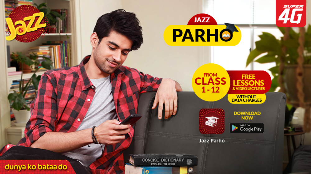 """Jazz supports access to remote learning through """"Jazz Parho"""" during the COVID-19 pandemic"""