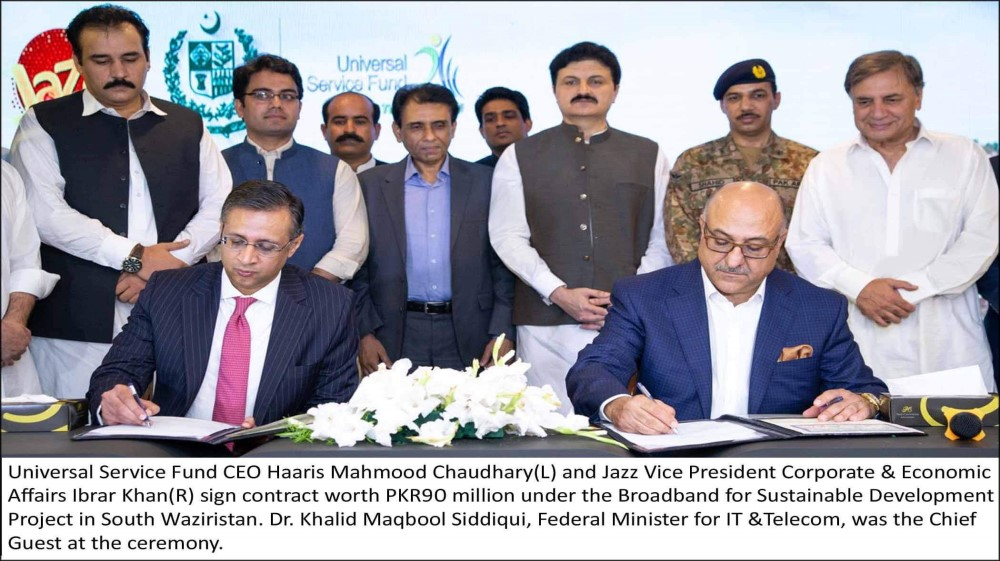 Jazz and USF to Bridge the Digital Divide in South Waziristan