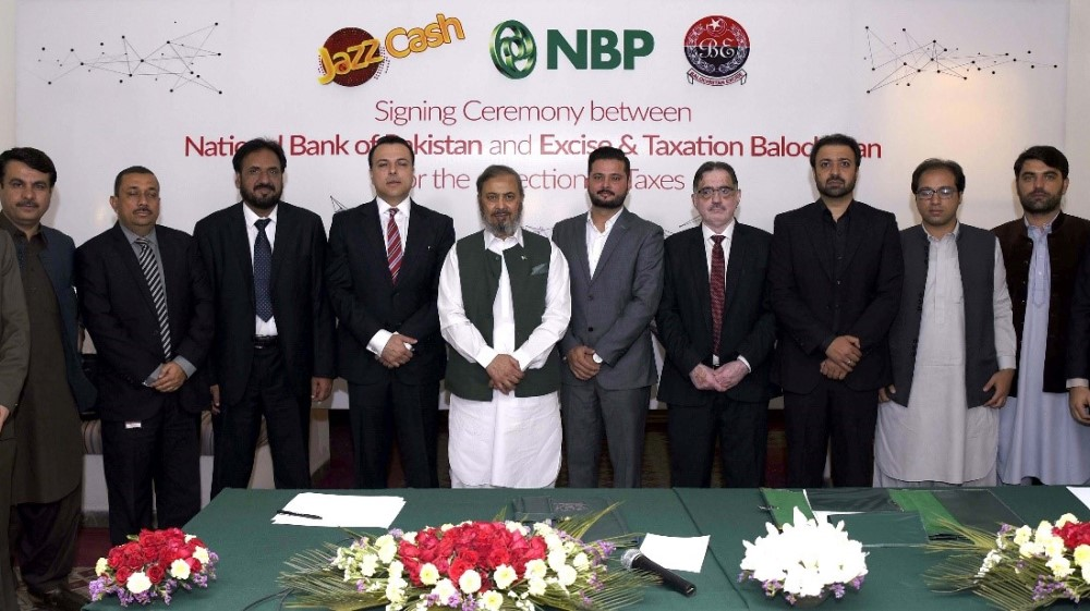 JazzCash to Facilitate National Bank of Pakistan in its Service of Excise and Taxation Department