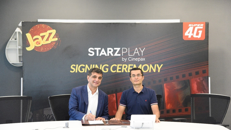 Jazz Becomes STARZPLAY by Cinepax's Exclusive Telecom Partner