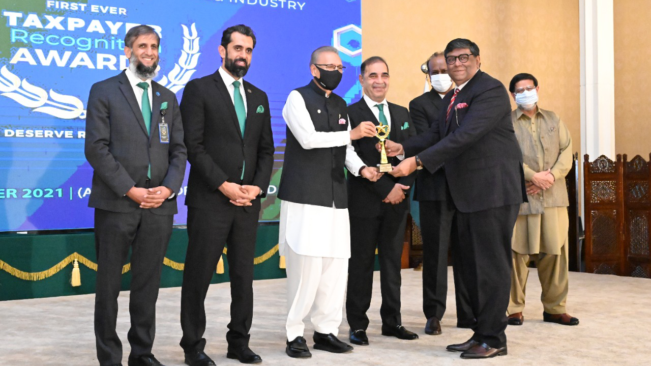 RCCI and FBR bestow Jazz with the Best Taxpaying Company Award